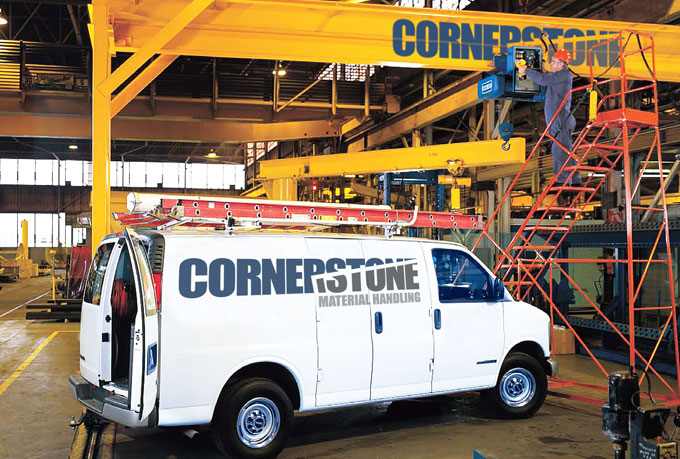 About Cornerstone Material Handling